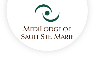 Medilodge of sault ste marie web logo